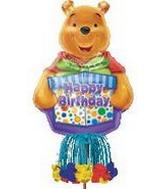 "57"" Winnie Birthday Inflatable Yard Sign INF7"