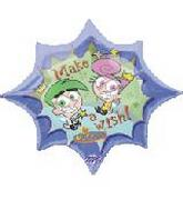 "32"" Make A Wish Fairly Odd Parents 6B53"