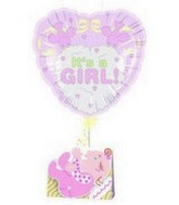 18&#39&#39 It&#39s a Girl! Birds Note Float