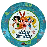 "9"" Airfill Power Puff Girls Birthday"