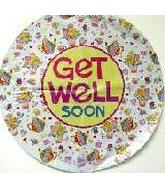 "18"" Get Well Soon Flower & Tea Pots"