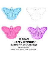 10 Gram Happy Weights Pastel Butterfly Asstorted