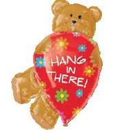 "34"" Hang In There Mylar Balloon"