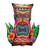"30"" Tiki Island Idol Shape"
