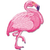 "35"" Flamingo Beach Balloon"