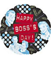 "18"" Happy Boss&#39s Day Faces"