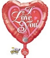 "31"" Recordable I Love You Balloon"