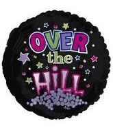 "18"" Over the Hill Dots & Stars"