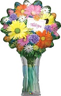 "39"" Thank You Flower Bouquet Balloon"