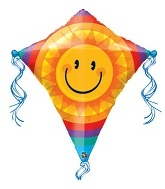 "38"" Smiley Sun Kite"