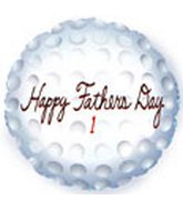 "18"" Happy Father's Day Golf Ball"