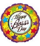 "18"" Happy Boss&#39s Day Stars Around"