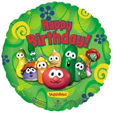 "18"" Happy Birthday Day Veggie Tales"