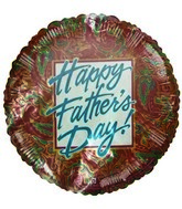 Happy Father&#39s Day Paisley Pattern Airfill Balloon