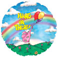 "18"" Hang In There Elephantz Balloon"