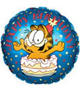 "18"" Garfield in Cake Birthday"