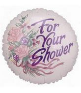 "4"" Airfill Balloon FOR YOUR SHOWER"