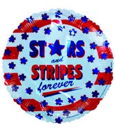 "18"" Stars and Stripes Forever Patriotic Balloon"