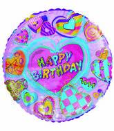 "18"" Happy Birthday Heart Patches"