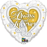"18"" Always and Forever Balloon"
