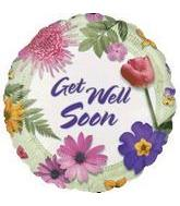 "18"" Get Well Fresh Flowers Damaged Print"