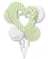 Honeydew Wedding Balloon Bouquet