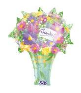 "27"" Thanks Bouquet Shape (B33)"