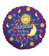 "18"" Celestial Celebrate from Morning to Night"