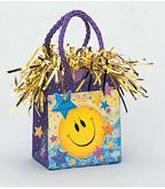 5.5OZ Smiley Stars Balloon Bag Weight