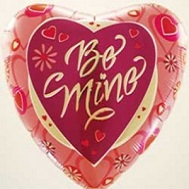 "18"" Be Mine Balloon"
