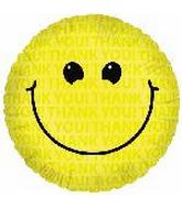 "18"" Thank You! Smiley Face"
