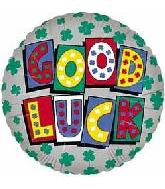"18"" Good Luck Blocks Clover"