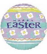 "18"" Happy Easter Poppies Balloon"