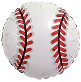 "18"" Baseball Single Sided Mylar Balloon"
