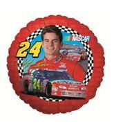 "9"" Airfill Balloon NASCAR JEFF GORDON"