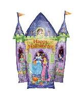 "36"" Happy Halloween Princesses Castle (B88)"