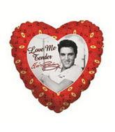 "9"" Airfill Balloon ELVIS LOVE ME TENDER"