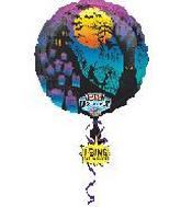 28'' Singing Balloon Happy Halloween