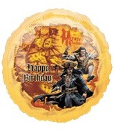 "18"" Pirates ll Happy Birthday"
