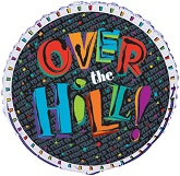 "18"" Over The Hill Confetti"