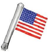 "26"" America Rally Flag (airfill-self sealing)"