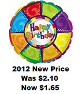 "31"" Happy Birthday Colourful Pieces (B7)"
