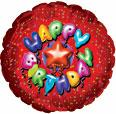 "31"" Happy Birthday Balloon Letters"
