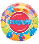 "18"" Congrats Stars Big Dot Balloon"