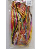 Quickie Ties with Assorted Color Ribbon Included (50 PCK)