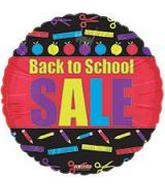 "18"" Back To School Sale Balloon"