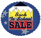 "18"" Back To School Sale"