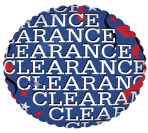 "18"" Clearance Sale Mylar Balloon"