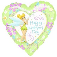 "18"" Tinkerbell Happy Mother Day Balloon"