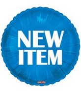 "18"" New Item Blue Circle"